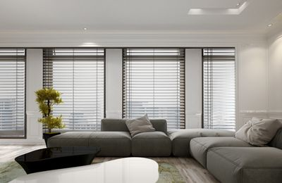 Window Blinds, Shutters & Curtains